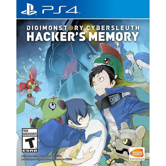 Digimon Story Cyber Sleuth Hackers Memory Ps4 Mídia Física