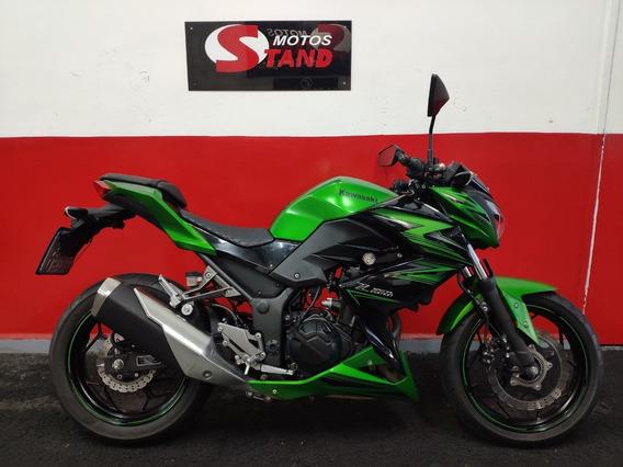 Kawasaki Z300 Z 300 Z-300 Abs 2016 Verde