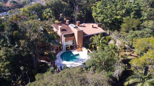 Imagem 1 de 30 de Casa Com 5 Dormitórios À Venda, 1300 M² Por R$ 13.990.000,00 - Chácara Flora - São Paulo/sp - Ca3741