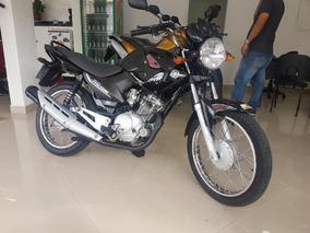 Yamaha Ybr 125 E 2011 Preta