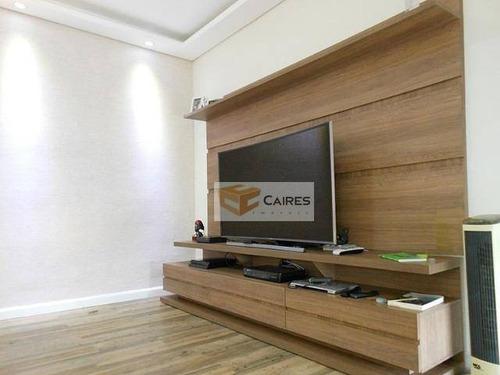 Apartamento Com 3 Dormitórios À Venda, 97 M² Por R$ 420.000,00 - Jardim Amazonas - Campinas/sp - Ap7914