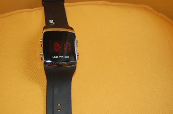 Relógio Pulso Usado Led Watch