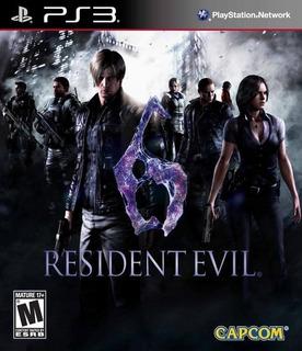 Resident Evil 6 Version Completa Digital Disponible Ps3