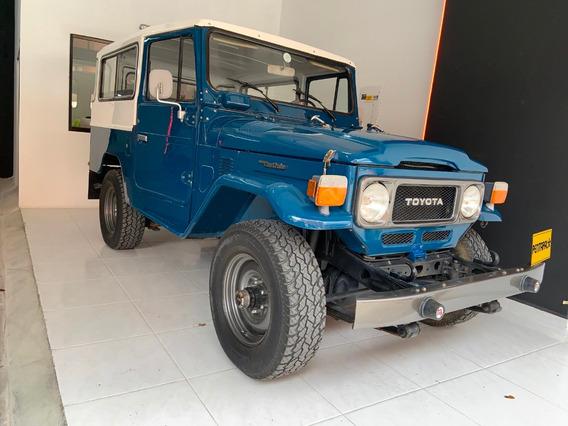 Toyota Fj43 Modelo 1982 Motor 3.5 Azul 4x4