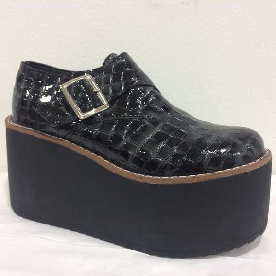Zapatos Con Plataformas Altas De 9cm Super Livianos Art 3000