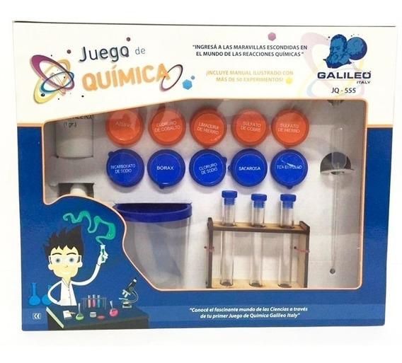 Juego De Quimica Galileo Con Accesorios