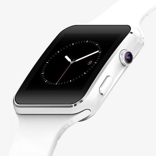 Smart Watch X6 Curvo Camara Inteligente Celular Con Sim Y Sd