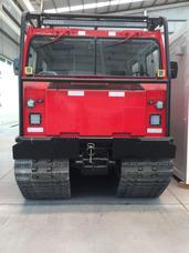 Vehículo Tipo Oruga Hagglund Color Rojo