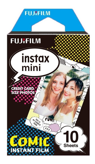 Fujifilm Cartucho Fuji Instax Mini Comic ( 10 Hojas )