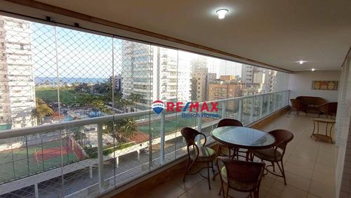 Imagem 1 de 30 de Apartamento À Venda, 124 M² Por R$ 1.100.000,00 - Central Park - Guarujá/sp - Ap3371