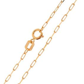 Gargantilha Cartier Ouro 18k 40cm Feminina Corrente Cordão -