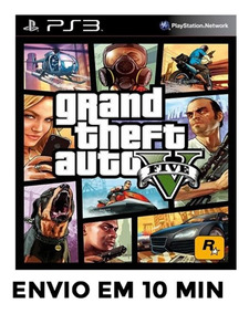 Gta 5 Ps3 Grand Theft Auto V Ps3 Psn Envio Agora
