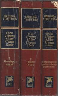 Ginecología Y Obstetricia O Käser V Friedberg K Ober 3 Tomos