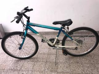 Bicicleta Mountain Bike Con Cambios, Rodado 24