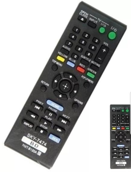 Controle Remoto Sony Rmt B120a Paralelo Novo Bd Bdps 5110