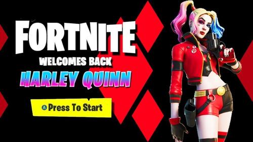 Fortnite - Dc Rebirth Harley Quinn Skin (código)