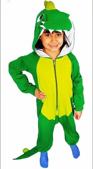Pijama Ó Disfraz Dinosaurio Para Niños/as, De 1,2 Ó 3 Años.