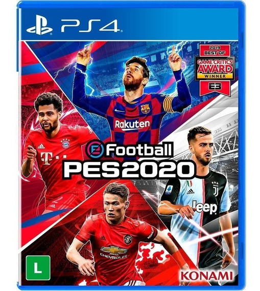 Efootball Pes 2020 Ps4 Pro Evolution Soccer 2020 M Física