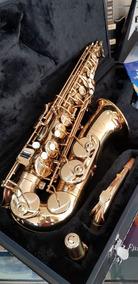 Sax Saxofone Alto Jupiter Jas 567 Em Eb Laqueado Original