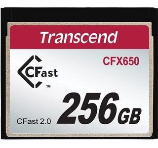 Cartão De Memória Indust Temp Cfast Card 256gb Ts256gcfx600