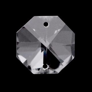 1000 Castanha Cristal Italiana K9 Para Lustres C/argolas