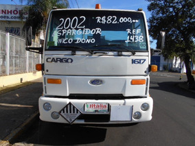 Cargo 1617 Espargidor 2002 Único Dono