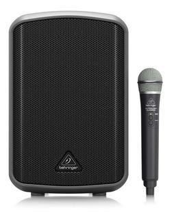 Bafle Activo Protatil Behringer Mpa100bt Usb Con Microfono