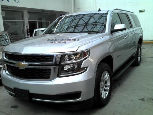 Imagen 1 de 15 de Chevrolet Suburban 2016 Ls 8 Cil 5.3lts Eng $ 117,000