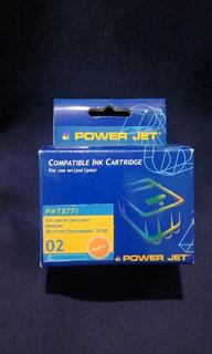 Cartucho Hp 02 Cyan Alternativo Powertec