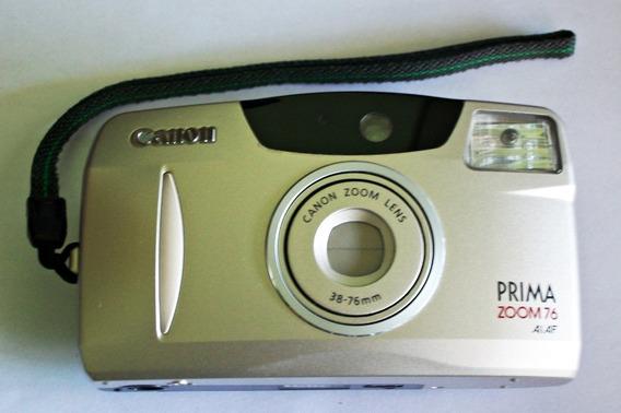 Câmera Fotográfica Canon Prima Zoom 76 (leia Todo O Anúncio)