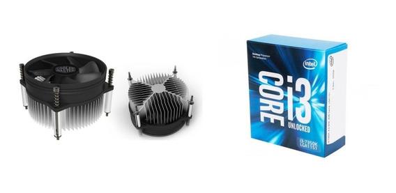 Processador Core I3-7350k + Cooler Master I30