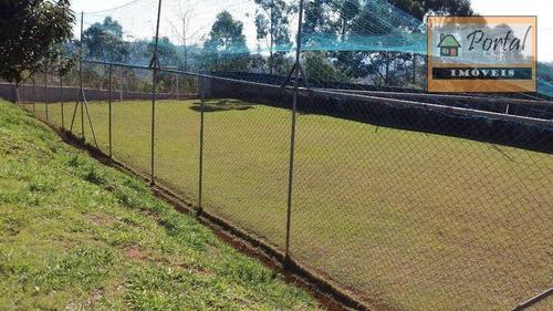 Chácara À Venda, 2500 M² Por R$ 600.000 - Outeiro Das Paineiras (botujuru) - Campo Limpo Paulista/sp - Ch0182