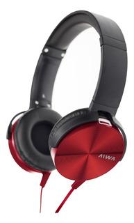 Auriculares Aiwa 101 Rojos