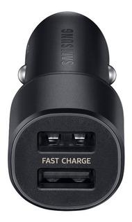 Carregador Veicular Ultra-rápido (2 Portas Usb) 2a Samsung