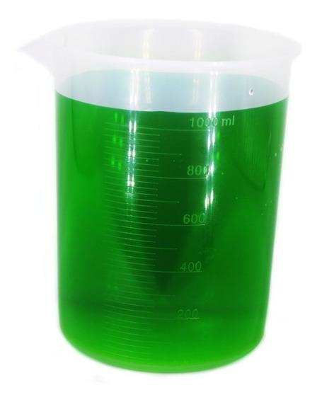 Vaso De Precipitado De Plastico De 1000 Ml. 1 Litro