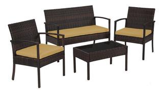 Living Terraza Rattan Juegos De Muebles Para Terraza En