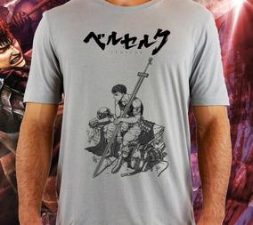 Camiseta Anime Berserk Mangá Gattsu