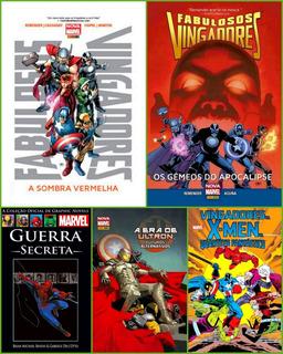 Kit 05 Hqs Graphic Novels - Marvel - Coleções