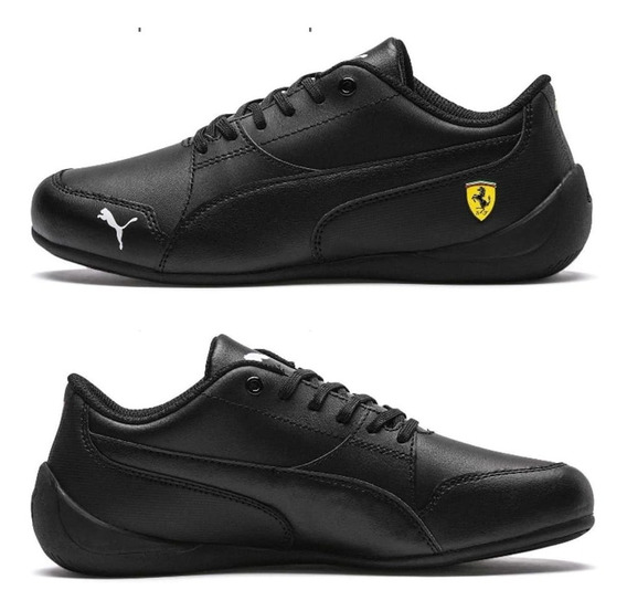 Zapatillas Puma Sf Drift Cat 7 Ferrari Negras Envio Gratis