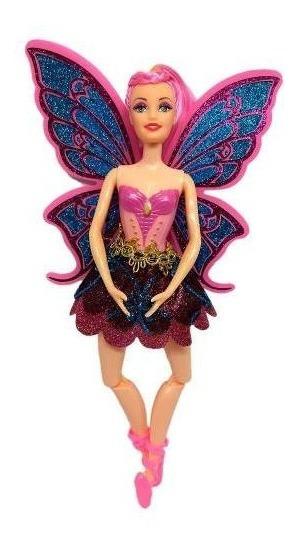 Boneca Fada Bailarina Tipo Barbie - Articulada
