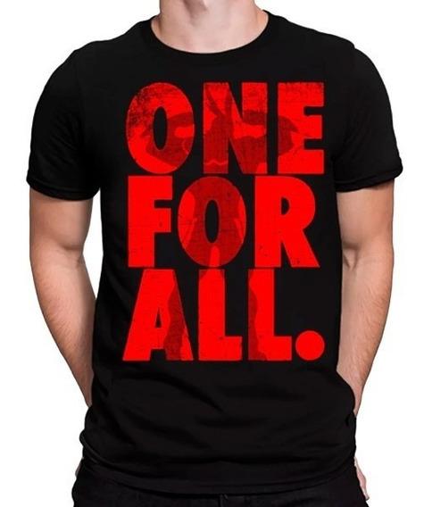Camisa Camiseta Boku No Hero One For All Anime Compre Hj