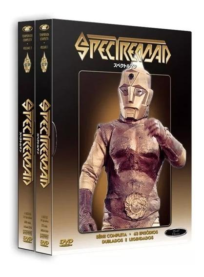 Box Dvd: Spectreman Coleção Completa (8 Discos) Original