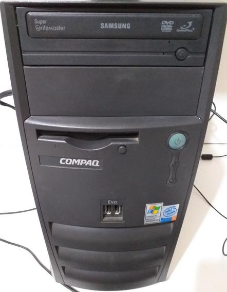 Evo Compaq D310 Pentium 4 1.8ghz Com Cabo De Força E Usb