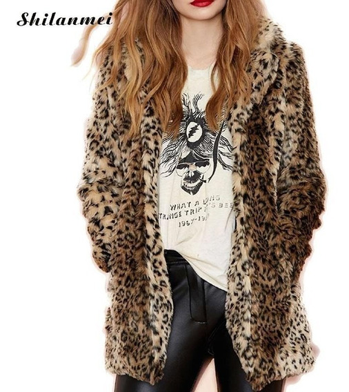 Sacon Simil Piel Leopardo Tendencia 2019 *marca Myrvil*