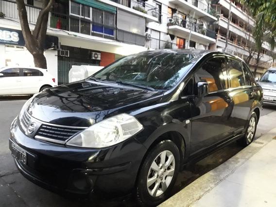 Nissan Tiida 1.8 Tekna 2009 / Full Cuero/techo/caja 6ta