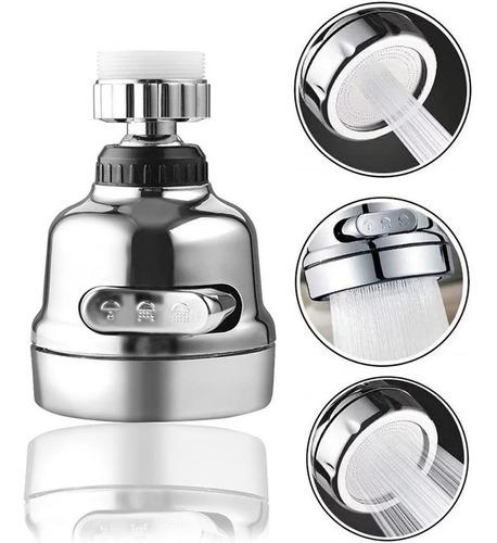 Grifo Ahorrador Agua Llave Cocina Difusor 360° 3 Modos