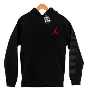 Sweater Jordar Air Con Capucha Y Bolsillo Algodón Estampado