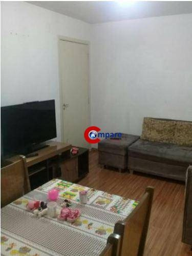 Imagem 1 de 12 de Apartamento Com 2 Dormitórios À Venda, 45 M² Por R$ 180.000,00 - Bonsucesso - Guarulhos/sp - Ap7649