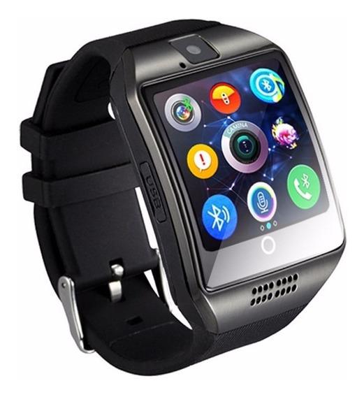 Smarwach Q18 Bluetooth Reloj Inteligente Con Cámara
