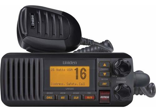 Radios De Comunicación Marino   Móvil - 25w   Uniden   Ipx4